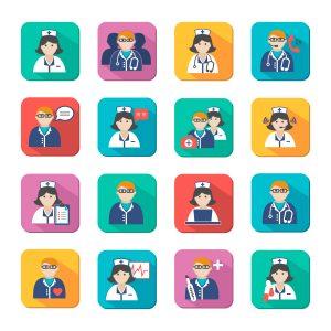 Анализ поведения медицинских работников в популярных социальных сетях