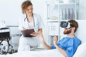 Ортопедическая больница Р. Джонса будет использовать видеоочки для снижения беспокойства пациентов